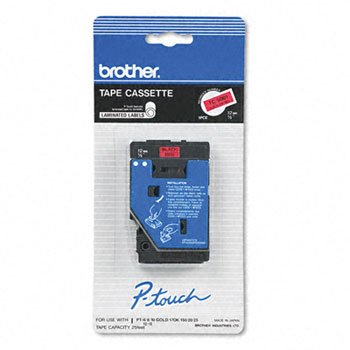 """Brother P-Touch TC Laminated Tape - 0.50"""" Width x 25 ft Leng"""