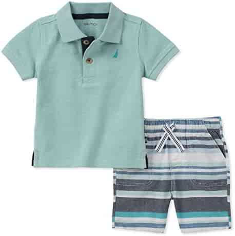 Nautica Boys' Polo with Shorts