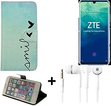 K-S-Trade® 360° Funda Smartphone para ZTE Blade V10, Smile + ...