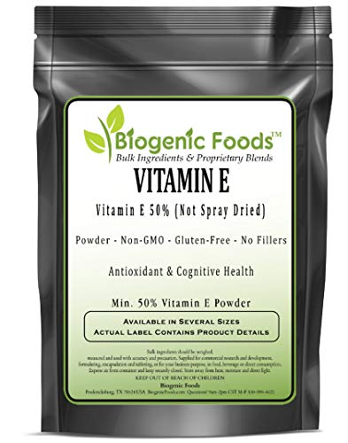 Vitamin E - Vitamin-E 50% (Not Spray Dried) Powder (Min. 50% Vitamin E Powder), 10 kg