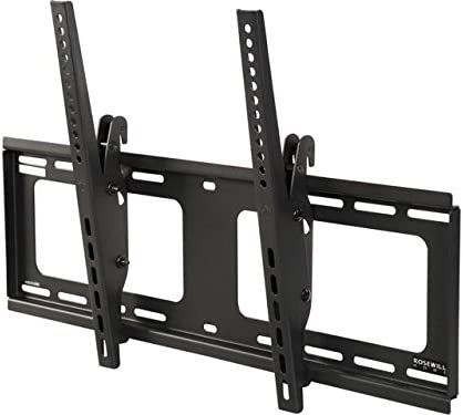Rosewill Heavy Duty Low Profile Tilting TV Wall Mount for Most 37 to 90 Inch LED LCD Flat Screen Monitor up to 176 lb VESA 600×400 mm TV Bracket, RHTB-17004