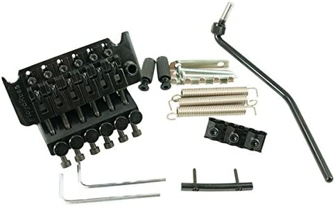 FLOYD ROSE ORIGINAL TREMOLO BLACK W/LOCKNUT フロイドローズオリジナル ロック式トレモロブリッジ セット [並行輸入品]