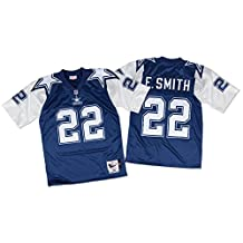 Emmitt Smith Dallas Cowboys Mitchell & Ness Authentic 1995 Blue NFL Jersey