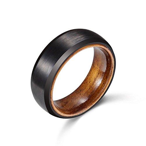 POYA Tungsten Finish Wedding Sleeve