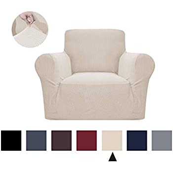Amazon.com: Binztec1-Pieces Chair Cover Sofa Slipcover Stay ...