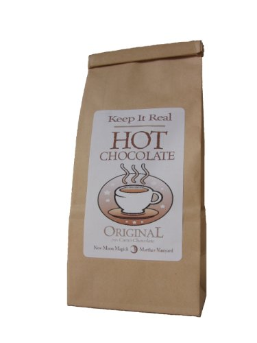 Enchanted Chocolates' Keep It Real Hot Chocolate Mix made in New England