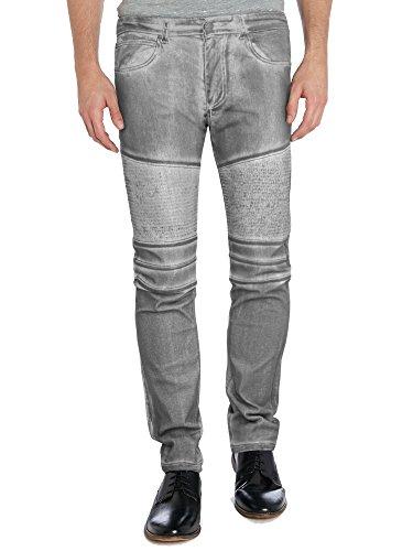 New York Stretch Jeans (Agile Mens Slim Fit Stretch Jeans AP43098SK BLACK)