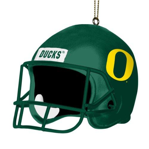 Oregon Ducks Santa - NCAA Oregon Ducks 3 Inch Helmet Ornament