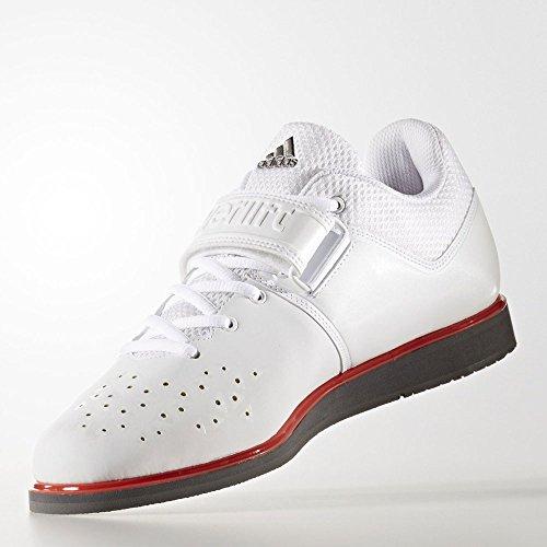 Les Hommes Adidas Chaussures Blanc Salle De Powerlift.3.1