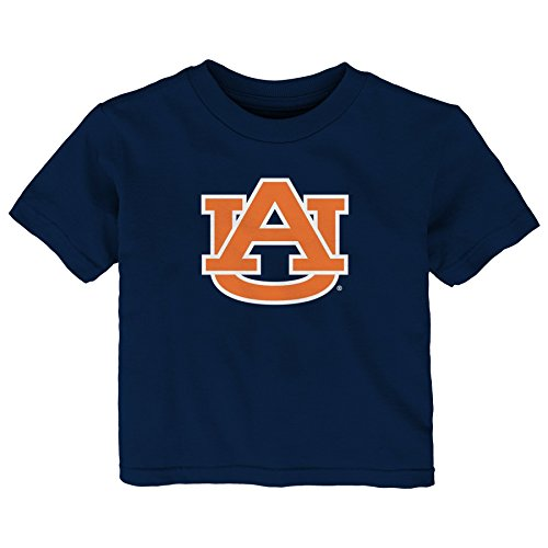 Gen 2 NCAA Auburn Tigers Infant Primary Logo Short Sleeve Tee, 24 Months, Dark - Auburn Tigers Jersey Logo
