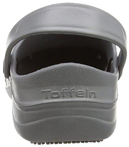 Toffeln Eziklog Unisex-Erwachsene Sicherheitsschuhe, Grau (Graphite Grey), 37 EU / 4 UK