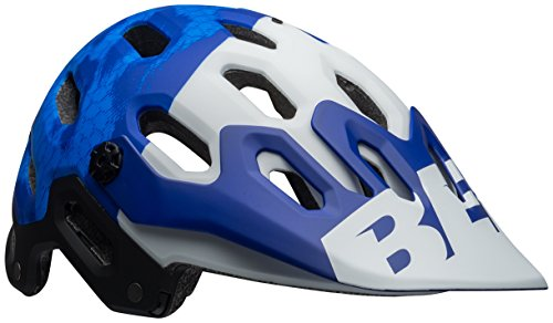 Bell Super 3 MIPS Cycling Helmet – Matte Force Blue/White B2B Large For Sale
