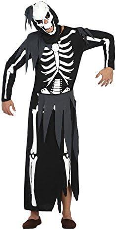 Atosa 17874 Disfraz esqueleto adulto XL, talla hombre: Amazon.es ...
