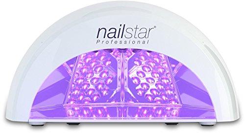 NailStar™ Professioneller LED-Nageltrockner für Shellac und Gel mit Timer, weiß