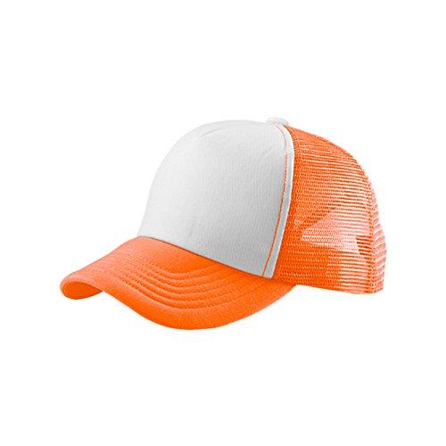 MG Unisex Summer Trucker Cap-6801B-Neon (Best Mg Mesh Hats)
