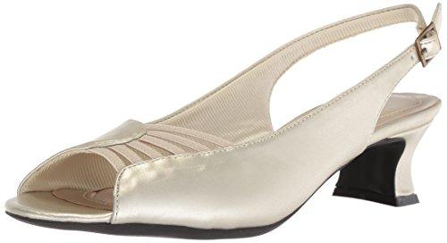 Street Champagne Heeled Easy Sandal Bliss Women's Zqxvwd