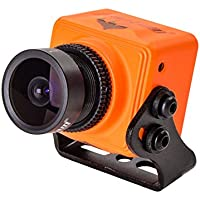 RunCam Swift Mini 2 FPV Camera 600TVL CCD Cam FOV 150°2.3mm Integrated OSD NTSC D-WDR with One Touch Scene Setting for FPV Racing Drone by Crazepony