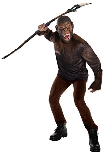 Rubie's Men's Caesar Costume, War for the Planet of the Apes, (Costume Planet Reviews)