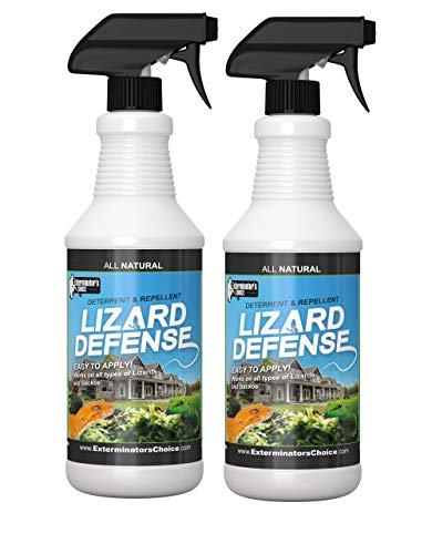 Exterminators Choice Lizard Defense Repellent Spray 2 Pack of 32 oz Bottles ()