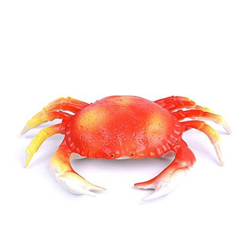 Plastic Crab Decoration Fake Toys for Children (Imitation Crab Meat Recipes)