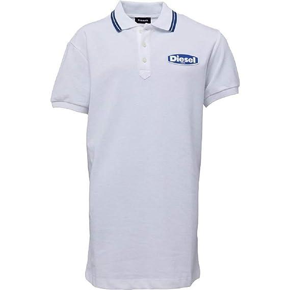 Diesel - Polo - para niño Blanco Blanco/Azul 176 cm altura/16-17 ...