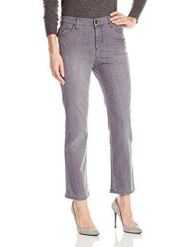 Gloria Vanderbilt Women's Petite Amanda-Classic Straight Leg Jean, Glacial Wash, 6P