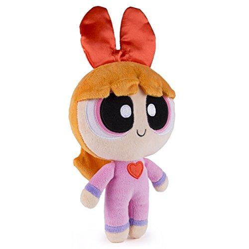 """The Powerpuff Girls - 8"""" Plush - PJ Theme - (Blossom Powerpuff)"""
