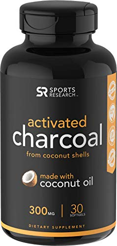 Activated Charcoal softgels detoxing Digestion