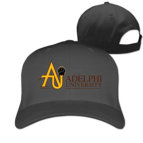Logon 8 Geek Adelphi University Trucker Hat One Size Black You Can