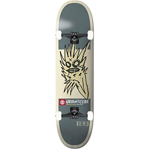Element Pro Skateboard Greyson Elementalist 8.1 Independent Trucks, Ricta Wheels