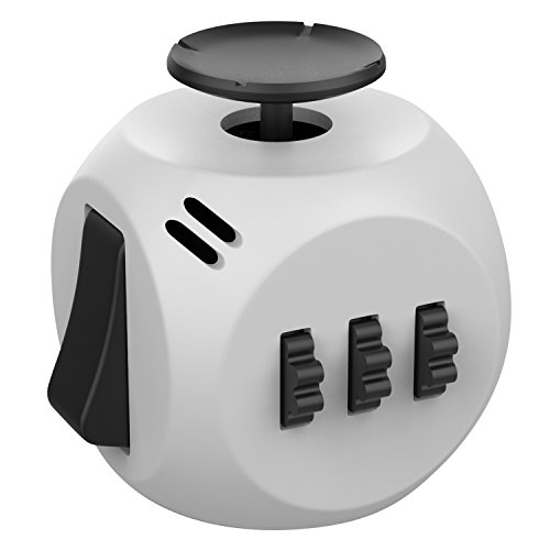 Helect H1037 Fidget Cube Toy Relieves Stress and Anxiety (Best Fidget Cube Brand)