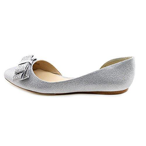 Inc International Concepts Celya Womens Taille 7 Argent Tissu Appartements Chaussures