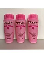 Three (3) Natural Hair Hypoallergenic Roots Volume Shampoo.