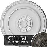 Ekena Millwork CM20KPWHC Kepler Traditional Ceiling Medallion, Witch Hazel Crackle
