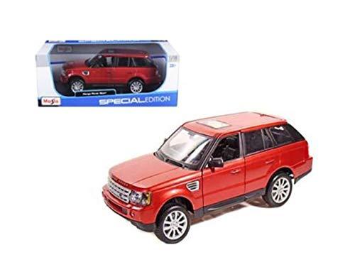DIECAST MAISTO 1:18 Special Edition - Land Rover Range Rover Sport (RED) 31135RD by MAISTO