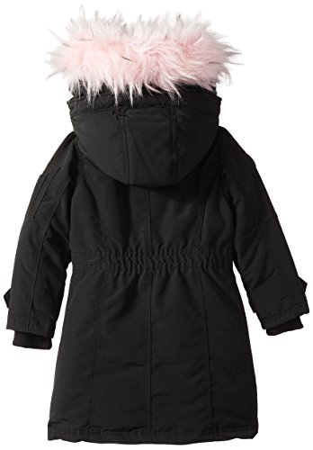 cw046 Outerwear More Parka Canada Hooded Little Jacket Available Weather Gear black Pink Styles Girls' Hooded IF77w1Yx