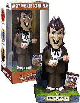 Funko Wacky Wobbler 12 Inch Bobble Bank Count Chocula - Wobbler Bank
