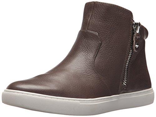 Gentle Souls Women's Carole Double Zip Mid-Top Sneaker, Cement, 6.5 Medium US by Gentle Souls