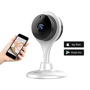 1080P Night Vision Camera, UG Wireless Home Security Camera Nanny Cam Spy Camera White