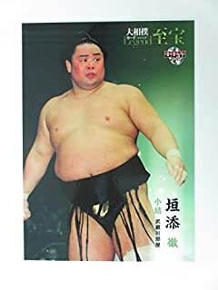 BBM2015大相撲カード「レジェンド」至宝■レギュラーカード■61小結/垣添