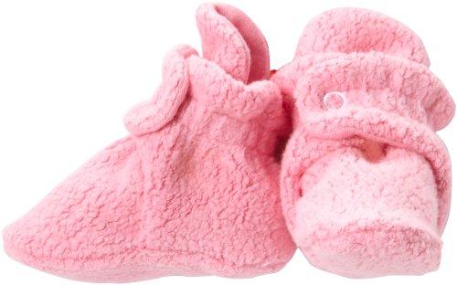 Zutano Unisex-Baby Newborn Cozie Fleece Bootie, Hot Pink, 3 Months