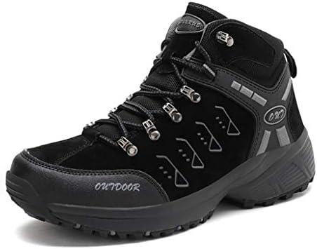 ハイキングシューズ ハイカット メンズ トレッキングシューズ 登山靴 防滑 耐磨耗 レースアップ アウトドア キャンプ シューズ 通気性 スニーカー 大きいサイズ ブーツ ウォーキング 靴 軽量 クライミングシューズ