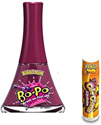 Bo-Po Nail Polish Color Change Lipbalm, Bubble Gum & Mango