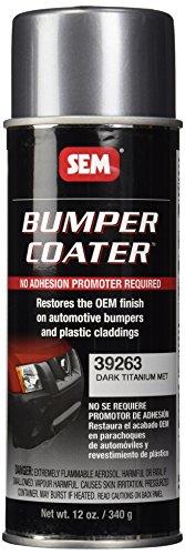 SEM 39263 Dark Titanium Bumper Coater Aerosol - 12 oz.
