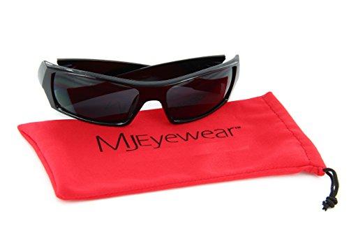 mens wrap around sunglasses dark lens sport