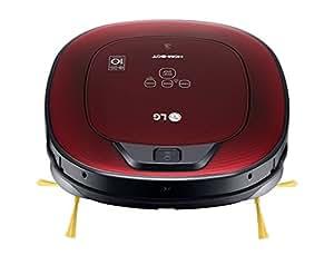 Lg vsr8600rr hombot turbo serie 8 robot aspirador casas con alfombras color rojo brillante - Robot aspirador alfombras ...