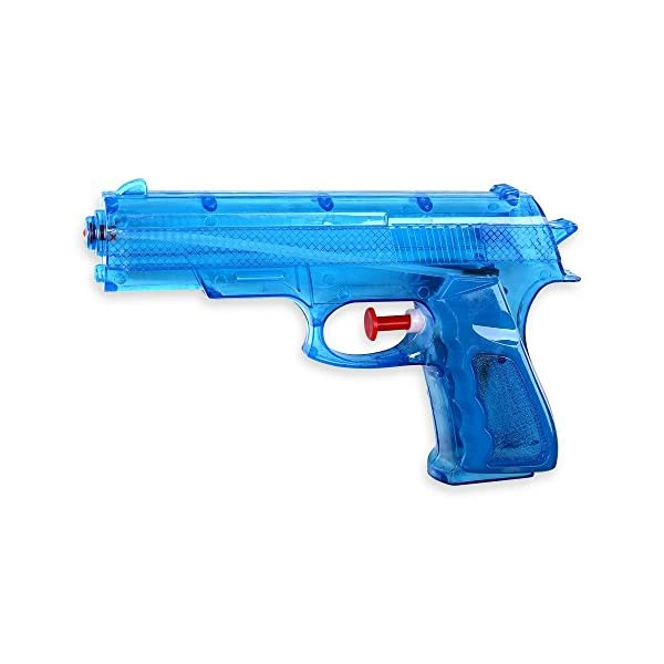 Schramm® 3 Pezzi Pistole ad Acqua Classiche Pistole ad Acqua da ca. 20,6 cm Pistola ad Acqua 3 spesavip