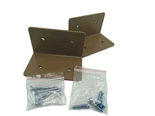 Squirrel Stopper 4X4 Post Mounting Bracket, Great for Bird House & Bird Feeders ()