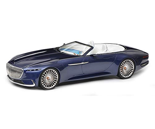 Mercedes Maybach Vision 6 Cabriolet Blue 1/18 Model Car by Schuco 450006600