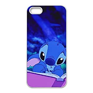 Disney Lilo And Stitch Character Stitch iphone 4 4S Cell Phone Case White Phone Accessories JV1G9917